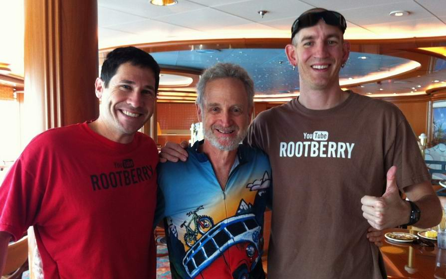 Bob Blum with  Team Rootberry